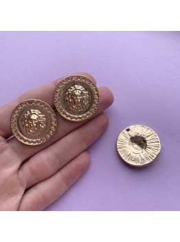 """Монета """"Лев"""" 30мм"""