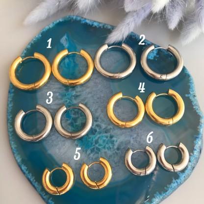 Швензы-кольца «Бублики» толстые круглые