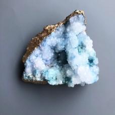 Интерьерный камень, друза кварца