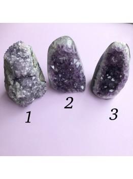 Интерьерный камень, сталактит аметиста