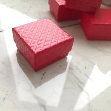 Коробка, 45*45*30 мм, красная