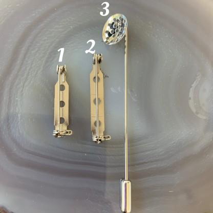Основы для броши 25 мм-71мм, Родирование