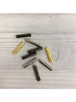Карабин магнитный 3 мм . Родирование/Позолота/Черненое серебро.