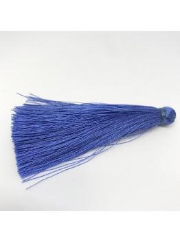 Шелковая кисть 7см, цвет синий