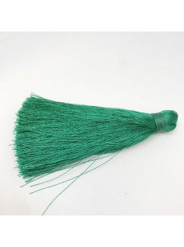 Шелковая кисть 10см, цвет зеленый