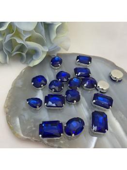 Набор пришивных кристаллов (синий)