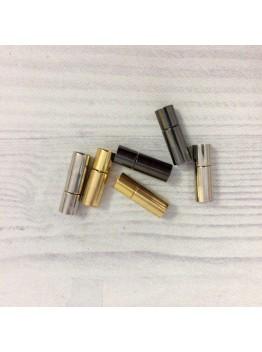 Карабин магнитный 6 мм . Родирование/Позолота/Черненое серебро.